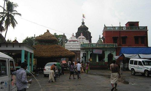 Sakshigopal Temple Front