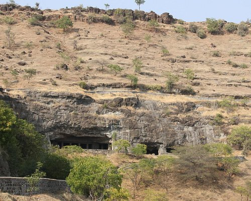 View of caves