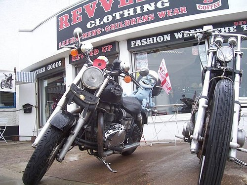 Great bikers meeting place