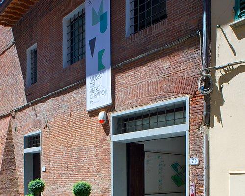 Accesso al Museo del Vetro di Empoli