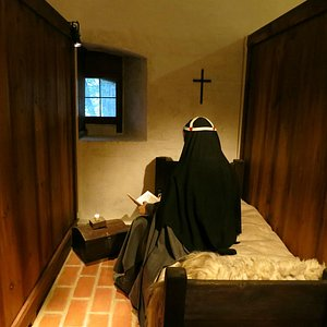A sleeping cell in the old nunnery