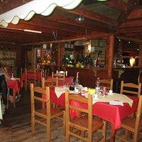 Dentro il ristorante