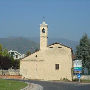 la chiesetta di Cappella Valletti a Giaveno
