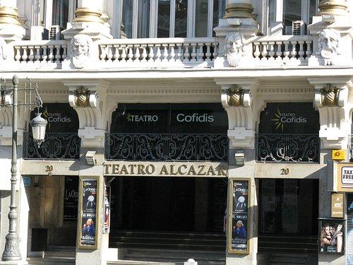 Teatro Alcázar, Madrid, Abierto !