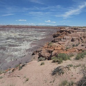 Little Painted Desert Park From Picnic Grounds