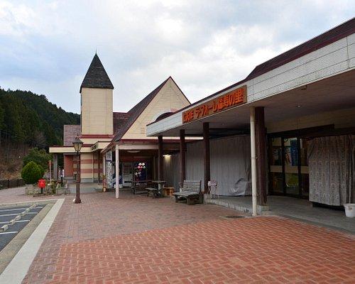 夕方の道の駅