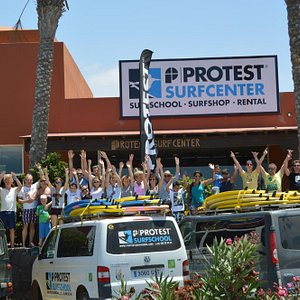 Our new Protest Surfcenter in Corralejo awaits you!