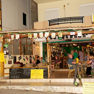 Peggy Gordon's, a gem in Sisi, Crete.