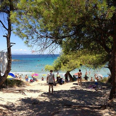 a praia mais bonita, em vourvourou
