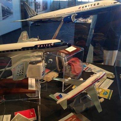Various airline displays