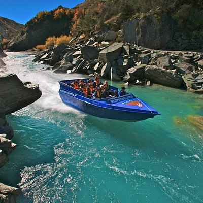 Jetboating the Shotover river