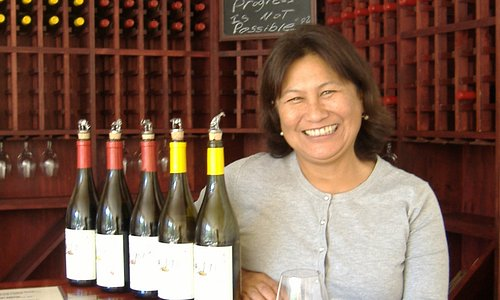Kathy Karlsen Owner of Chock Rock Vineyard
