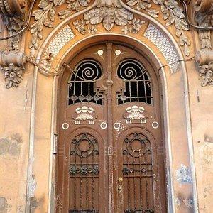 Puerta Casa David J. Melul