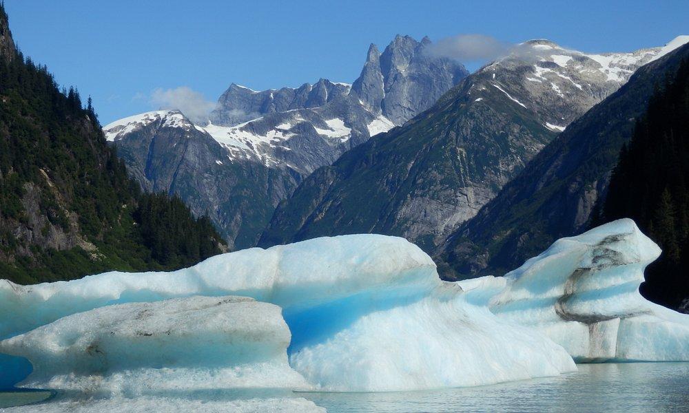 Shakes Lake and Glacier