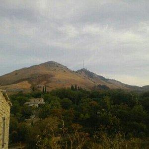 view to Mt. pontakrator