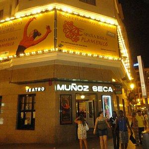 Fachada do Teatro Muñhoz Seca