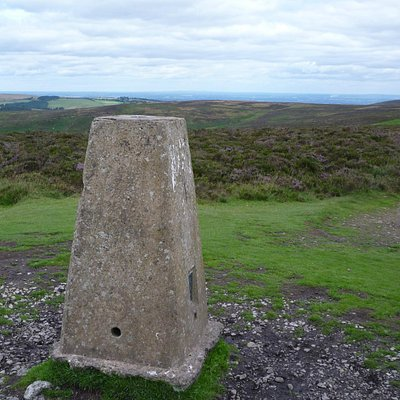 Pole Bank trig, Long Mynd