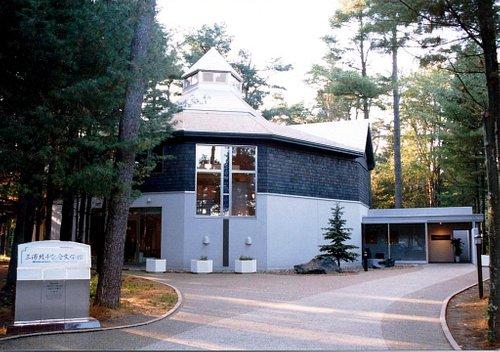 三浦綾子記念文学館の外観