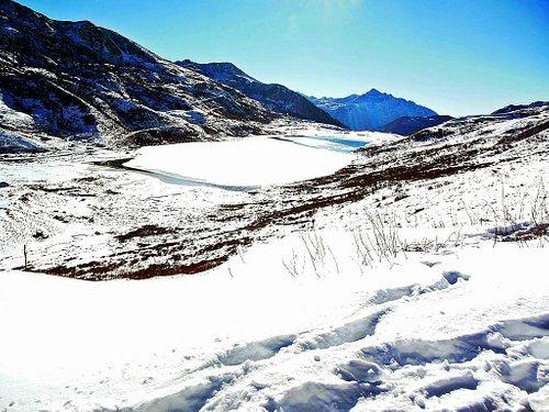 Frozen Kupup Lake