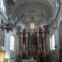 La parrocchiale SS. Filippo e Giacomo