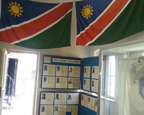 Inside the Owela Museum in Windhoek.