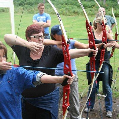 Archery at The Adrenalin Jungle