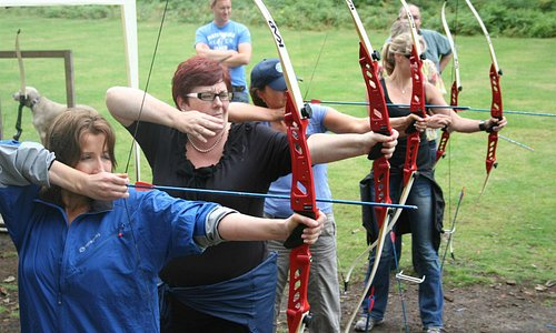 Archery at The Adrenalin Jungle