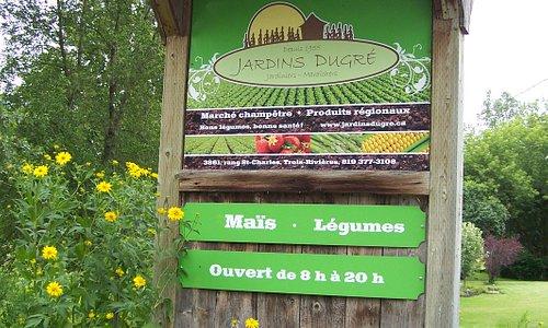 Jardins Dugré, Rang St-Charles, Trois-Rivières
