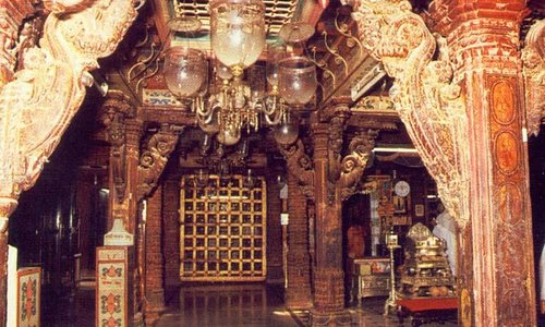 Inner Hall of Temple