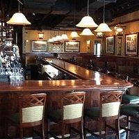 Great Chop Block Wood Bar