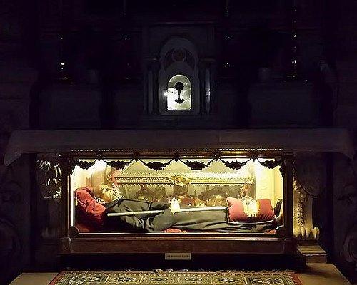 Reliquie e statua di S. Bernardino