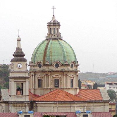 La Basilica vista dai Cappuccini.