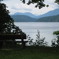 View from the picnic area.