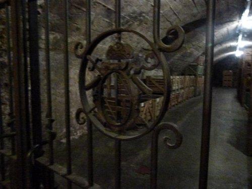 Blick in den alten Keller