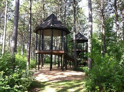 Treehouse at the Monk Gardens