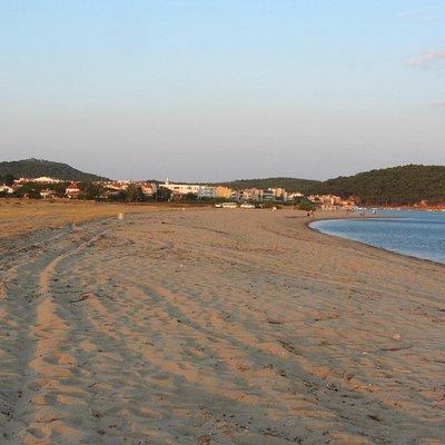 Praia de Badavut, Litoral do Mar Egeu