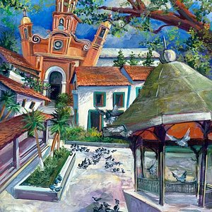 Dancing Square PV, Architectural Whimsy Series