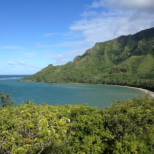 View from Kapa'ele'ele Trail