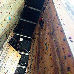 Inside the Hardrock Climbing Company