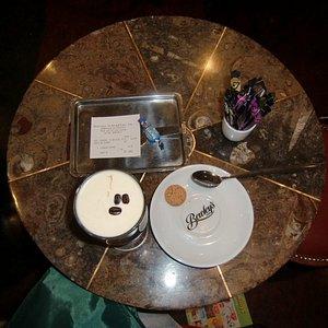 tavolino al bar