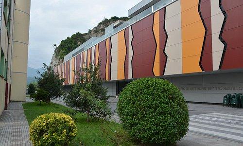 Vista de la fachada