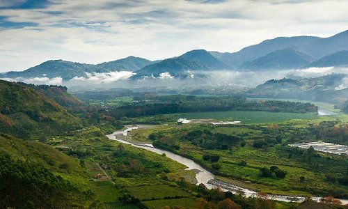 The Orosi Valley River