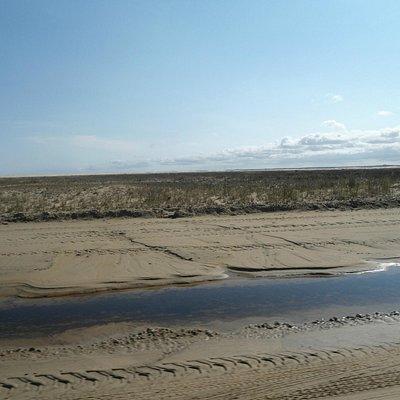 Estrada de areia