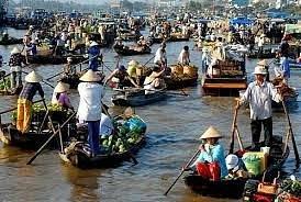 Mekong Rier market