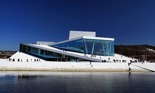 The Norwegian Opera and Ballet in Oslo.