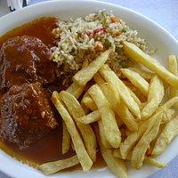 piatto di carne greca