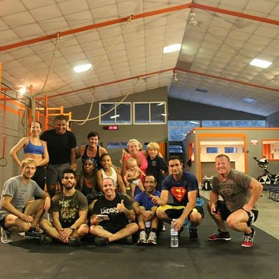 After Wod, with the Elviria Gang