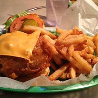 Tony's Beer Battered Burger
