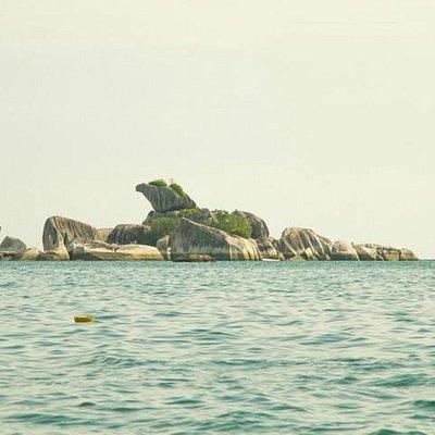 Bird Island - Pulau Burung from the boat