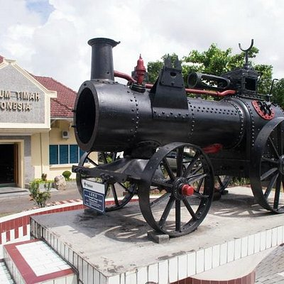 The front view of the Tin Museum